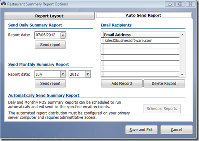 New Automatic Report Functionality Available in BPA | Business Software Solutions