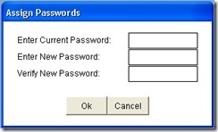 employee password screen