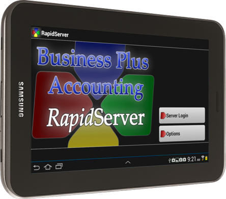RapidServer Tablet POS Client for Android | Business Software Solutions