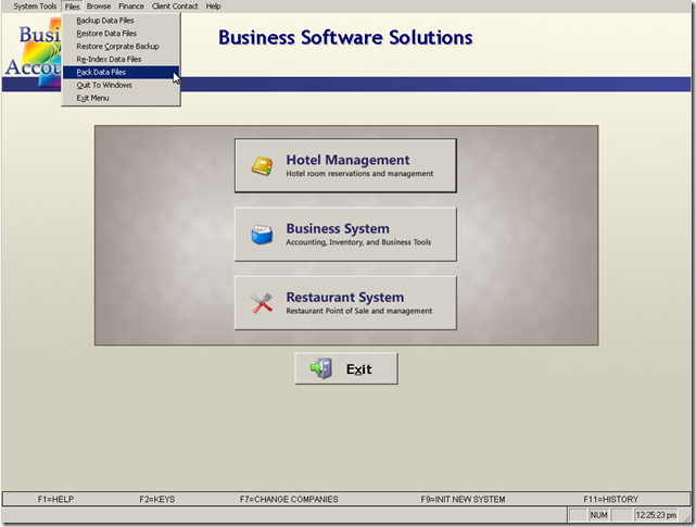 BPA POS Software maintenance